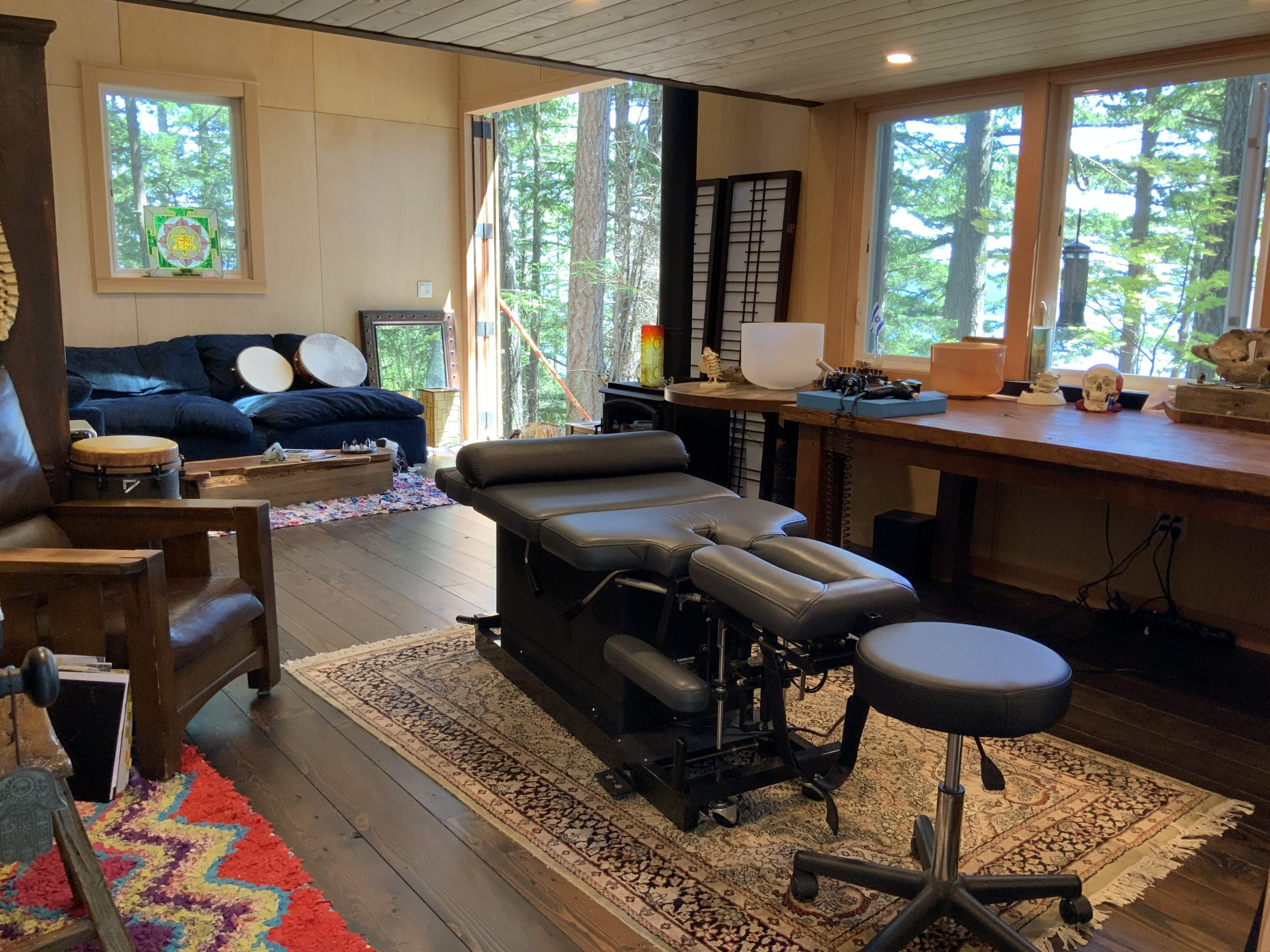 chiropractic cabin
